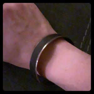 Black and Gold Madewell Bracelet